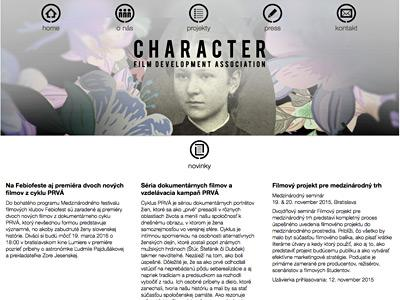 CHARACTER - Film Development Association